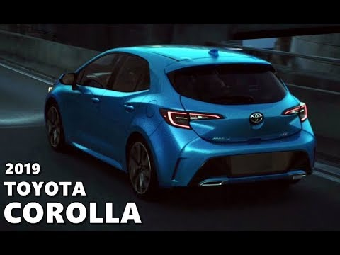 2019 Toyota Corolla Hatchback Auris Ny Launch Film Youtube