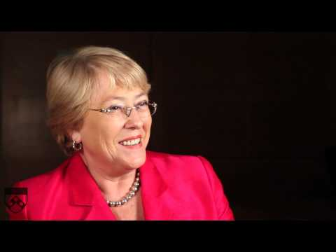 Michelle Bachelet on Empowering Women in Developing Countries