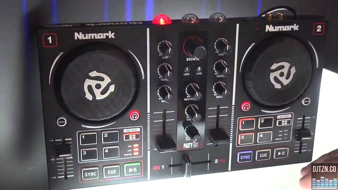 NAMM 2016: Numark Party Mix DJ Controller