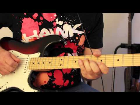 How to play Joe Bonamassa Sloe Gin Solo part 1