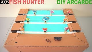 DIY Arcade Game - Ep02: Fish Hunter Plus Game Machine | Cardboard Crafts