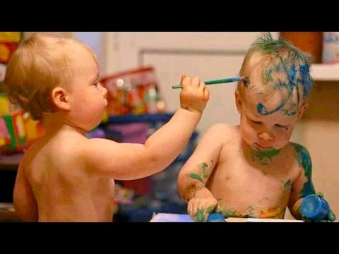 The very funniest BABY & TODDLER & KID videos #16 - Funny and cute compilation - Watch and laugh ...