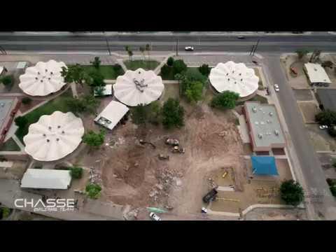 Walter Douglas Elementary School Construction Progress on June 29th, 2019