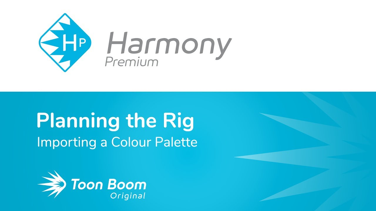 How to Import a Colour Palette with Harmony Premium