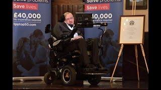 Professor Stephen Hawking   Cambridge Union