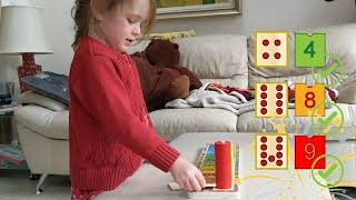 Wooden Stacking & Counting Rings Sorting And Matching Eductional Toy For 3 Years Toys Of Wood Oxford