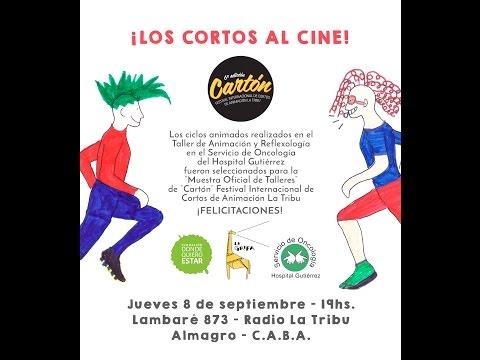 Cortos del Hospital Gutiérrez en el Festival Cartón 2016