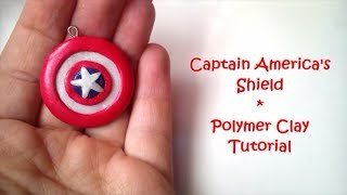 Captain America's Shield Polymer Clay Tutorial - Avengers Part1