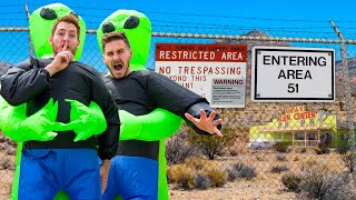 STORMING AREA 51 EARLY! (Meme)