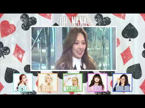 「IDOL101」KARD (Team B ~ Kredit Kard) - Oh NaNa (Round 1)