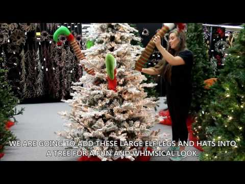 Elf And Hats Tree