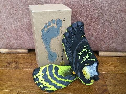 Vibram Five Fingers Running Shoes Review and How to Run Bare Foot