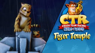 Crash Team Racing Nitro Fueled: Tiger Temple Gameplay (PS4)