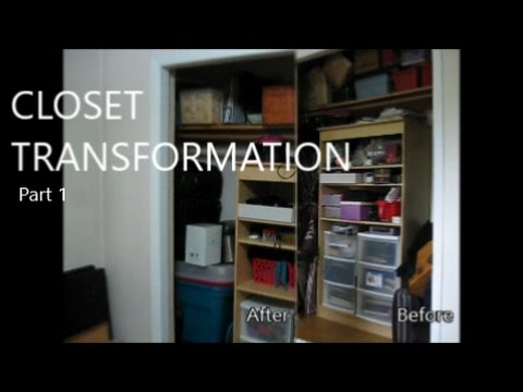 Closet Transformation Part 1//Getting Started!