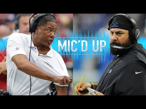 Steven Wilks & Matt Patricia Mic'd Up for head Coaching Debuts! | NFL Films