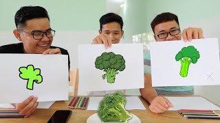 LamTV - Trận Chiến Họa Sĩ - Ai Vẽ Xấu Nhất Phải Ăn Mẫu Vẽ | Artist Battle