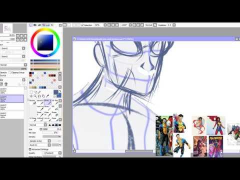 Artcast: Invincable and Ms. Marvel [Part 1}