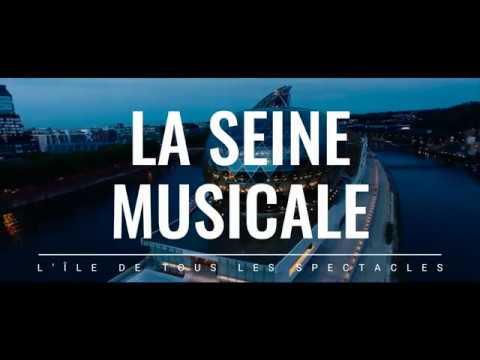 La seine musicale l 39 le de tous les spectacles youtube - Programme la seine musicale ...