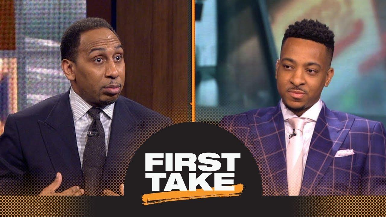 Stephen A. to CJ McCollum: Trail Blazers should trade you or Damian Lillard   First Take   ESPN