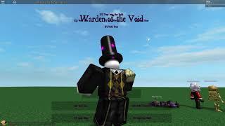 ROBLOX Script Showcase: Warden of the Void