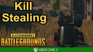 KILL STEALING - PUBG Xbox One X Gameplay