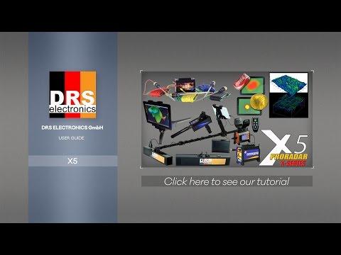 DRS Proradar X5; magnetomer, gradiometer, long-range, resistivity meter and metal detector