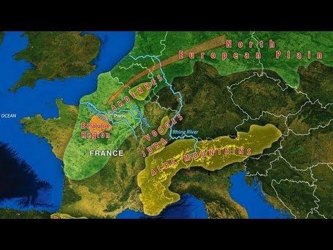North European Plain France's Geographic Ch...