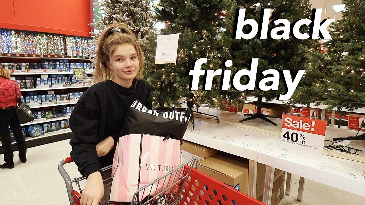 black friday vlog + haul