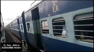 Bibhuti express  VS Asansol intercity | parallel action
