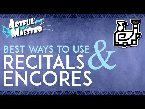 Hunting Horn Guide - Best Ways To Use Recitals & Encores - The Artful Maestro