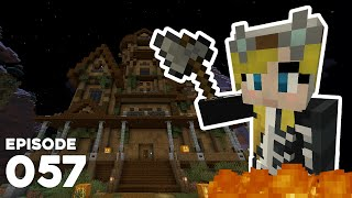 Hermitcraft 7 057 | HAUNTED MANSION, TRICKS AND TREATS! 🎃