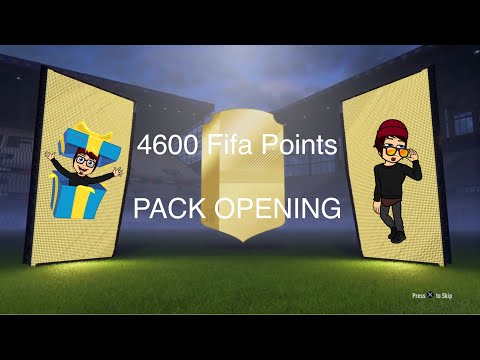 FIFA 18 Ultimate Team - 4600 Points pack opening