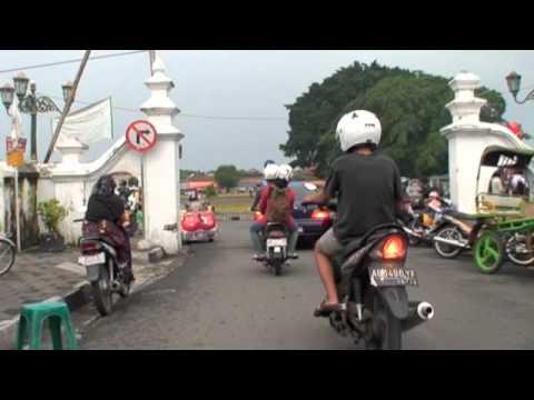 Becak travel in Jogja