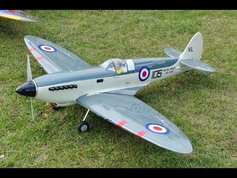 TEST FLIGHT - E-SCALE SUPERMARINE SEAFIRE EP - DEANO & TREV CMAC - 2014