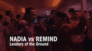 Nadia vs Remind // Cypher Adikts