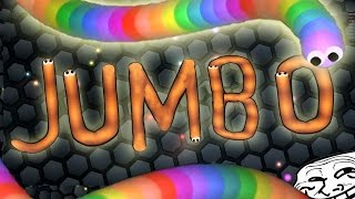 Jumbo PLAYS SLITHERIO - Slither.io Gameplay