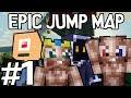 Minecraft - Epic Jump Map met Ronald, Milan, Pieter en Don #1