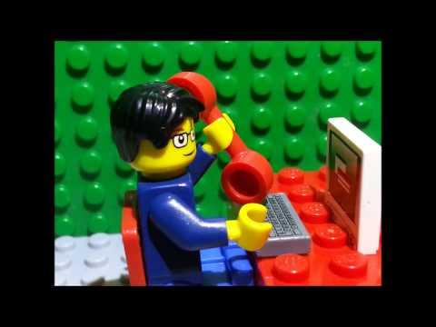 Annikin's Math Tech Lego Video Project 3: Career Research on Financial Analyst