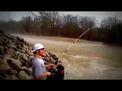 Justin 39 s fish at grenada lake 1 8 12 youtube for Sardis lake fishing report