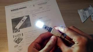 Обзор и работа LED USB фонаря с диммером - USB Touch Control Dimmer Lamp LED Light от ICStation.com