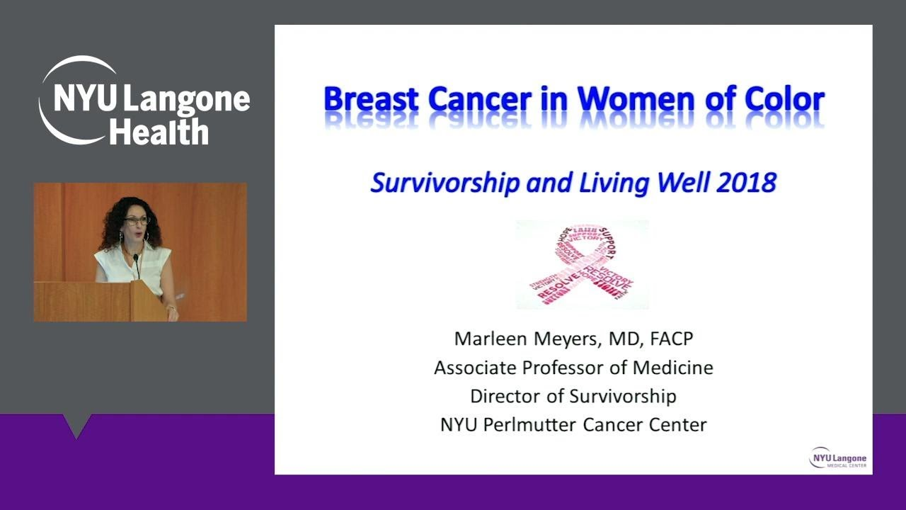 Breast Cancer in Women of Color: Survivorship Care Plan