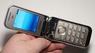 Телефон из моей коллекции. Samsung C3595. Крутой телефон 2013 года