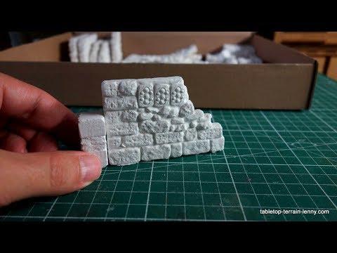 Building `The Ruins Of Moorstedt´-Terrain