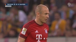 Arjen Robben vs Dynamo Dresden (17/08/2015) Away HD 720p by 1900FCBFreak