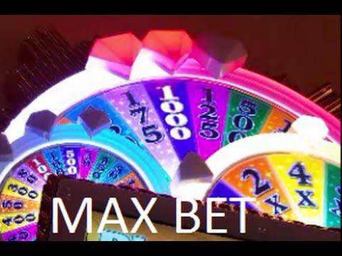 Wheel of Fortune Slot - MAX BET- Surprise WIN - PARX Casino