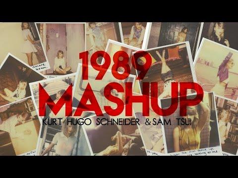 Kurt Schneider & Sam Tsui - Taylor Swift 1989 Mashup (2500 Subscribers Lyric Video)