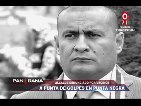 Alcalde denunciado por vecinos: a punta de golpes en Punta Negra