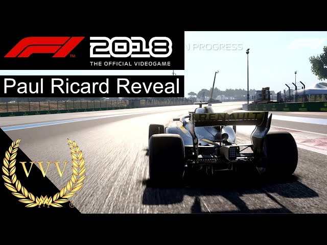 F 1 2018 Paul Ricard Reveal