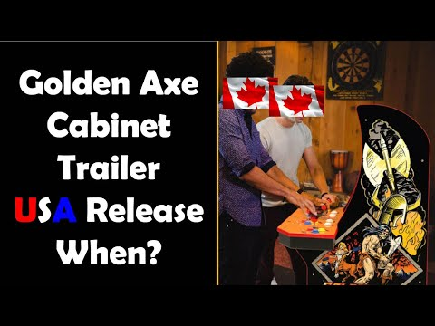 The Trailer Dropped! Arcade1up Golden Axe Revenge of Death Adder Release Date When?! from Unqualified Critics