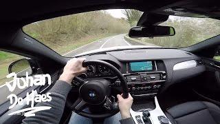 2017 BMW X4 M40i 360hp POV test drive GoPro